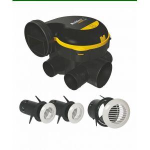 Aldes Kit easyhome auto + grilles de ventilation bip