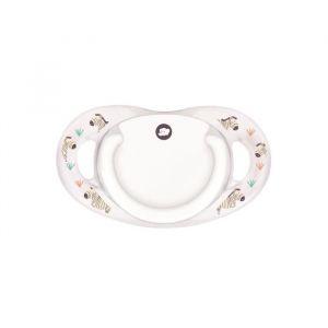 Bébé Confort Sucette dental safe - silicone 0/6M - X2 - Blanc