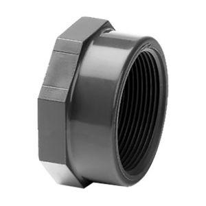 Bouchon PVC pression à visser F 3/4