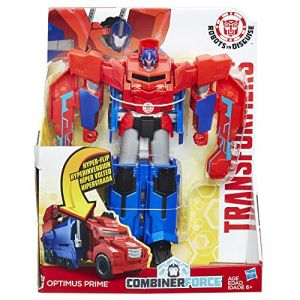 Hasbro Figurine 3 Steps Changer Transformers Robots in Disguise Optimus Prime