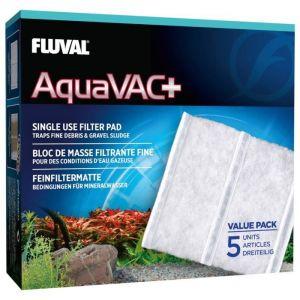 Fluval Lot de 5 blocs de filtration fine AquaVac+ - Pour aquarium