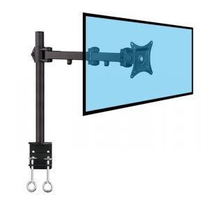Kimex Support bureau pour 1 écran ou moniteur 13''-27''