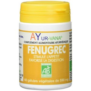 Ayur-Vana Fenugrec bio - 60 gélules
