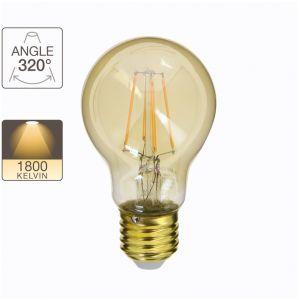Xanlite Ampoule LED A60, culot E27, 3,8W cons. (30W eq.), lumière blanc chaud