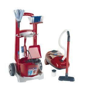 Klein Chariot de ménage avec aspirateur Vileda
