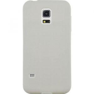 Bigben Interactive Coque en silicone Samsung Galaxy S5 Mini G800 - Blanche micro perforée