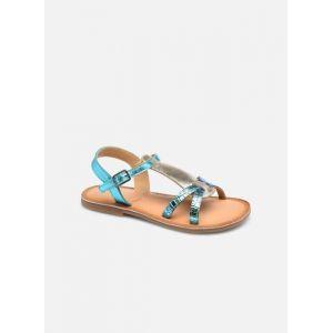 Mod8 Sandales Cuir Calicot Bleu