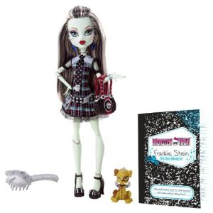 Mattel Monster High Frankie Stein et son journal intime