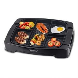 Techwood TPM-1505 - Grill multi-zones 1500 Watts