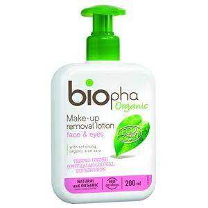 Biopha Lotion démaquillante visage et yeux