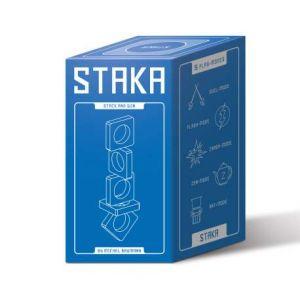 Helvetiq Staka Jeu d'empilement 1 à 4 joueurs à partir de 8 ans Multicolore