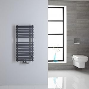 Hudson Reed CHMA800400  - Sèche-serviettes eau chaude 462 watts Magera