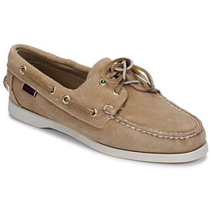 Sebago Chaussures bateau DOCKSIDES PORTLAND SUEDE W Beige - Taille 36,37,38,39,40,41