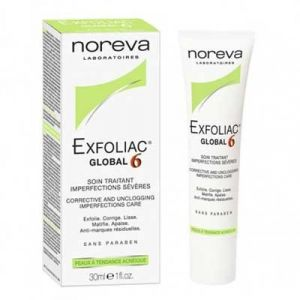 Noreva Exfoliac Global 6 - Soin traitant imperfections sévères