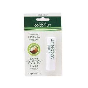 Inecto Pure Coconut - Baume nourrissant pour les lèvres