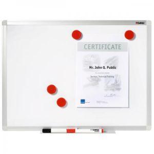 Dahle 96154-15451 - Tableau blanc Basic 96154, en acier laqué, 100x150cm