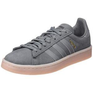 Adidas Campus W, Chaussures de Sport Femme - différents Coloris - Multicolore (Gritre/Gritre / Roshel), 39 1/3 EU