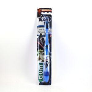 Image de G.U.M Star Wars - Brosse à dents Bleue Anakin Skylwalker pour enfant à partir de 6 ans