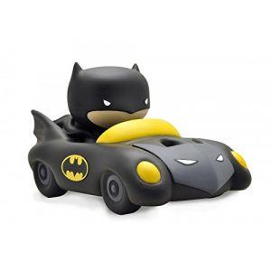 Plastoy DC Comics Tirelire Chibi Batman et La Batmobile