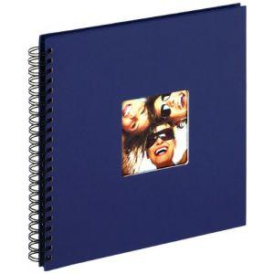 Walther Design Album à spirales Fun 30x30/50 bleu