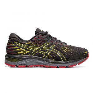 Asics Gel-Cumulus 21 G-TX, Chaussures de Running Homme, Gris (Graphite Grey/Sour Yuzu 020), 42 EU