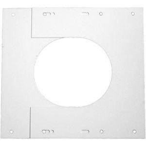 Ten 404080 - Plaque de finition basse (pour ventouse diamètre 80x125 pour chaudières condensation)