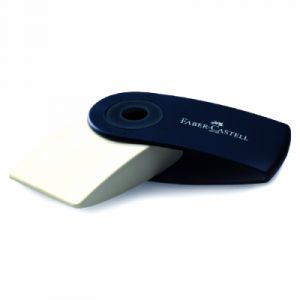 Faber-Castell Gomme blanche Sleeve normal - capuchon vert
