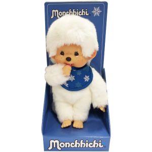 Bandai Peluche Monchhichi Garçon Snow