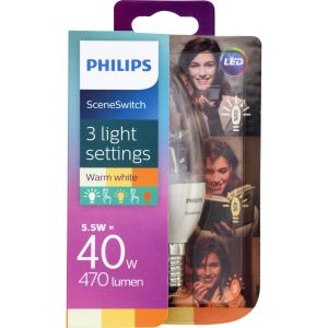 Philips Clear Candle 5,5W(40W) E14
