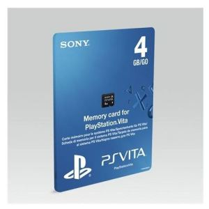 Sony Carte mémoire 4 Go PS Vita