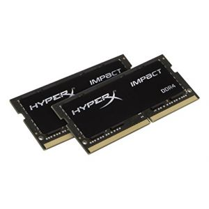 Kingston HX421S13IBK2/32 - Barrette mémoire HyperX Impact DDR4 32 Go (2 x 16 Go) SO DIMM 260 broches