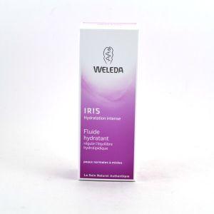 Weleda Iris Hydratation Intense - Fluide hydratant régule l'équilibre hydrolipidique