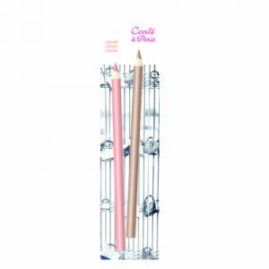Conté à paris Etui de 2 crayons techniques sèches - Sanguine/Sepia