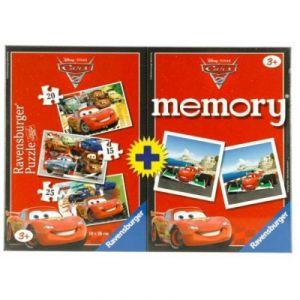 Ravensburger 3 puzzles et mémory Disney Cars