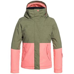 Roxy Jetty Block - Veste de snow pour Fille - Vert