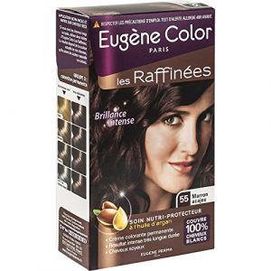 Eugène Color Les Raffinées N°55 Marron Acajou - Crème colorante permanente