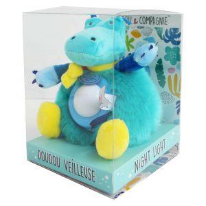 Doudou et Compagnie Veilleuse Crocodile