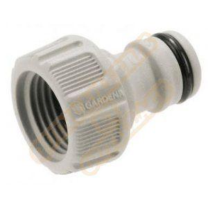 Gardena 18200-20 - Nez de robinet d'arrosage filetage 15/21