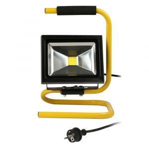 Projecteur LED de chantier portable+cable 20w