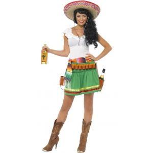 Déguisement serveuse mexicaine (taille M)