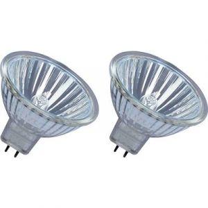 Osram Ampoule Halogène Verre 35 W GU5.3 Argent Set de 2