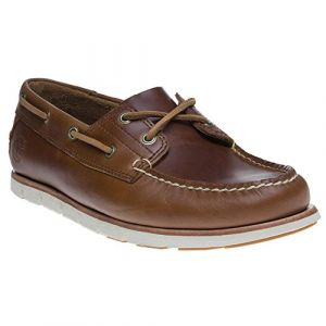 Timberland Tidelands Classic 2 Eye, Chaussures Bateau Homme, Marron (Sahara F74), 47 EU