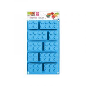 Scrapcooking Moule Briques en silicone - Plaque de 10 formes