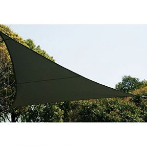 Hesperide Voile d'ombrage triangulaire - Toile solaire 2 x 2 x 2 m - Gris - AC-DÉCO
