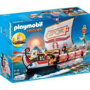 Image de Playmobil 5390 - History : Galère Romaine