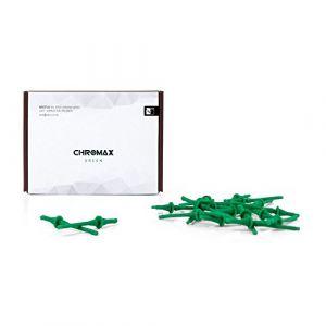 Noctua NA-SAV2 chromax vert - Kit d'accessoires pour ventilateur composé de 20 attaches anti-vibrations