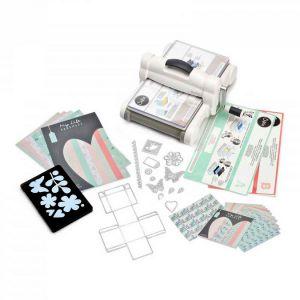 Sizzix 661546 Big Shot Plus Kit de démarrage scrapbooking machine de découpe et gaufrage