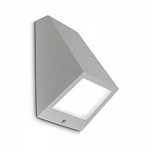 Led C4 Leds C4 - Applique extérieure incliné Angle LED IP54 - Gris