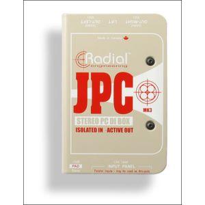 Radial JPC - Boites DI stéréo