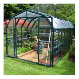 Palram Serre de jardin en polycarbonate Rion Grand Gardener 13,72 m², Ancrage au sol Oui - longueur : 5m14